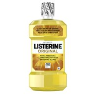 Listerine Original Antiseptic Oral Care Mouthwash, 500 mL