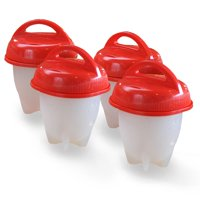 Egglettes Hard Boiled Egg Maker, 4 count