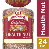 Oroweat Original Health Nut Bread, Baked with Simple Ingredients & Whole Grains & Nuts, 24 oz