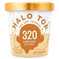 Halo Top Sea Salt Caramel Ice Cream - 16oz