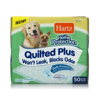 Hartz Home Pro Quilted Plus Pads, 21 in x 21 in, 50 Count