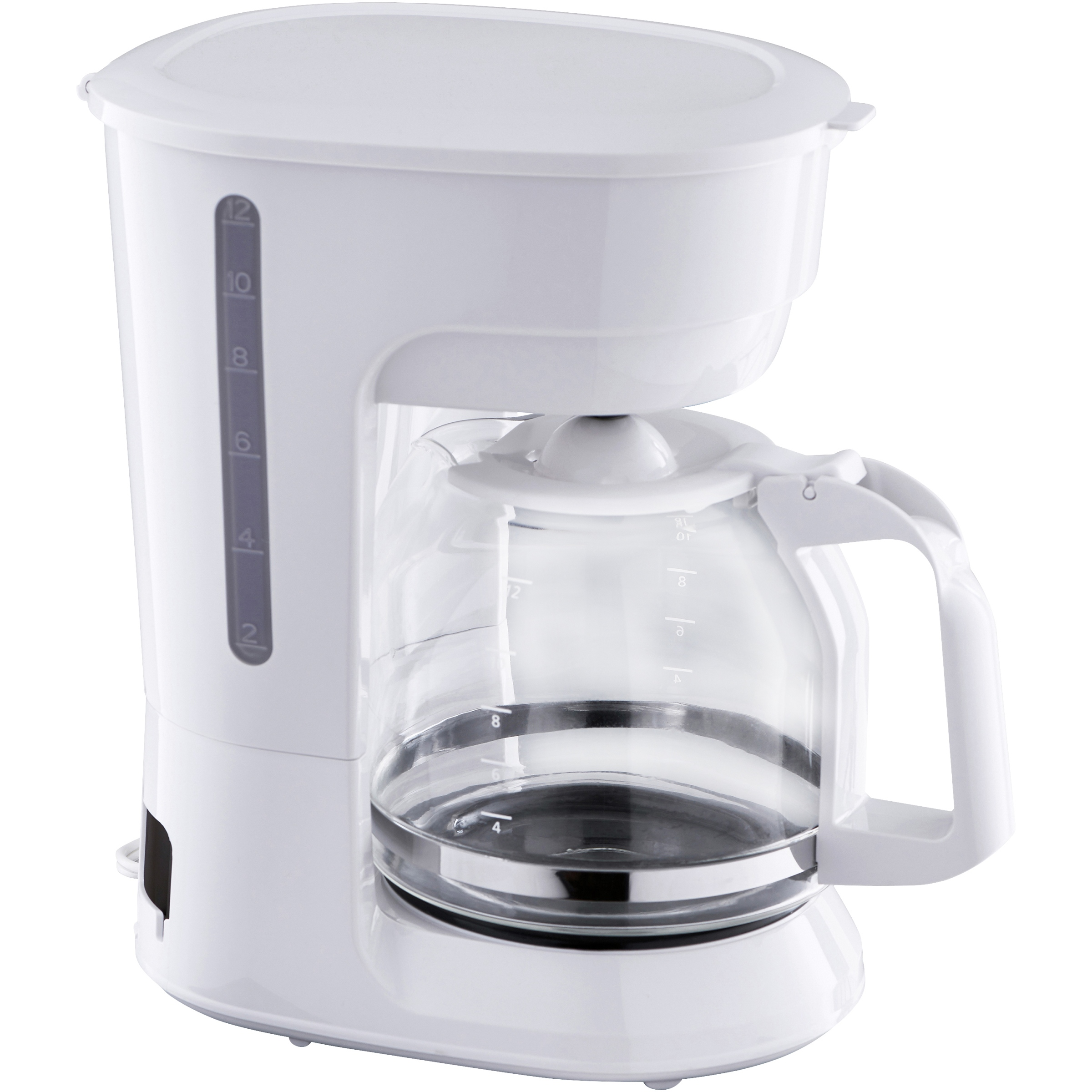 Mainstays Black 12-Cup Coffee Maker with Removable Filter Basket