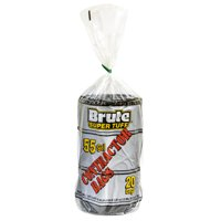 Brute Super Tuff® Contractor Bags, 55 Gallon, 20 Bags (Twist Tie)