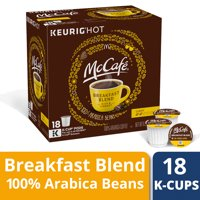 McCafe Breakfast Blend Coffee K-Cup Pods, Caffeinated, 18 ct - 6.2 oz Box
