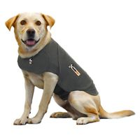 ThunderShirt The Best Solution for Dog Anxiety Medium Solid Gray Shirt