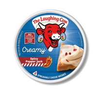 Laughing Cow Pepper Jack Cheese, 6 Oz.