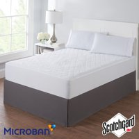 Mainstays Super Soft, Antimicrobial Mattress Pad