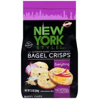 New York Style Everything Bagel Crisps Bagel Chips