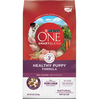 Purina ONE Natural Dry Puppy Food, SmartBlend Healthy Puppy Formula, 8 lb. Bag