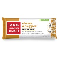 Good Food Made Simple Breakfast Frozen Burrito Cheese, Veggie & Egg - 5oz