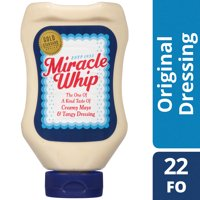 Miracle Whip Original Dressing, 22 fl oz Squeeze Bottle