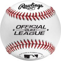 Rawlings Recreational Use Official League OLB3 Practice Baseballs, 2 Pack