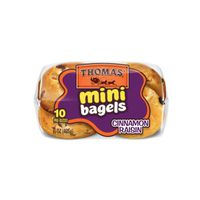 Thomas Cinnamon Raisin Mini Bagels