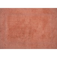 "Better Homes & Gardens Cotton 17"" x 24"" Terracotta Bath Rug, 1 Each"