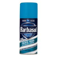 Barbasol Shaving Cream Pacific Rush