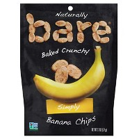 Bare Baked Crunchy Simply Banana Chips - 2.7oz