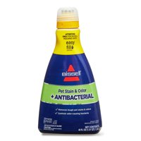 BISSELL Pet Stain & Odor + Antibacterial Carpet Cleaning Formula, 42 oz, 1567W