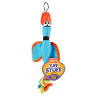 Hartz Tuff Stuff Small Nose Divers with Squeaker Tug Toy For Dogs