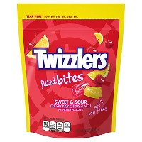 Twizzlers Filled Bites Sweet & Sour Licorice Candy - 8oz