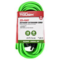 Hyper Tough General Use Extension Cord, 25 foot, Green