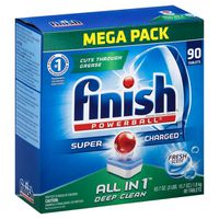 Finish Automatic Dishwasher Detergent, Powerball, Deep Clean, Tablets, Box