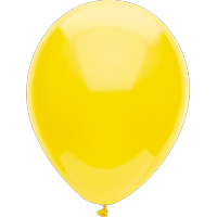 "Way To Celebrate 15 Ct. 12"" Plain Sunray Yellow Balloons"