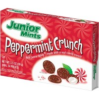 Junior Mints Christmas Peppermint Crunch Theater Box - 3.5oz