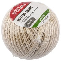 Hyper Tough 420 feet Cotton Household Twine, Natural Color