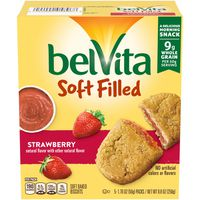 belVita Soft Filled Strawberry Soft Baked Biscuits