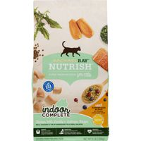 Rachael Ray Nutrish Super Premium Food For Cats Indoor Complete Chicken With Lentils & Salmon Recipe