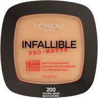 L'Oreal Paris Infallible Pro Matte Powder 200 Natural Beige