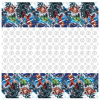 Avengers Plastic Party Tablecloth, 84 x 54in