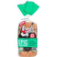Dave's Killer Bread® Epic Everything® Organic Bagels 16.75 oz. Bag