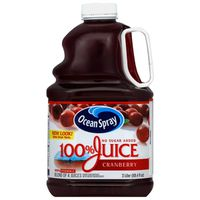 Ocean Spray 100% Juice No Sugar Added Cranberry