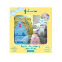 Johnson's Bath Time Discovery Baby Gift Set, 6 Items