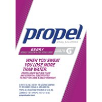 Propel Vitamins No Sugar Zero Calorie Berry with Electrolytes Powder Packets, 0.08 Oz., 10 Count