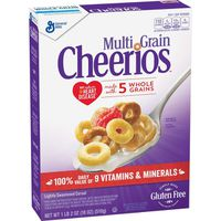 Cheerios Cereal, Multi-Grain, Lightly Sweetened