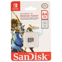 SanDisk Nintendo Switch 64GB Micro SDXC Card