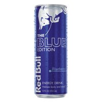 (1 Can) Red Bull Energy Drink, Blueberry, 12 Fl Oz, Blue Edition
