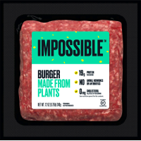 Impossible™ Burger Plant-Based Protein, 0.75 lb