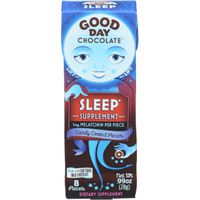 Good Day Chocolate Sleep Supplement, Candy Coated, Pieces