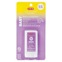 H-E-B Solutions SPF 55 Kids Unscented Sunscreen Stick