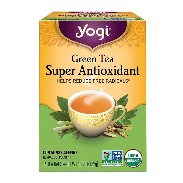 Yogi Tea - Green Tea Super Antioxidant - 16ct