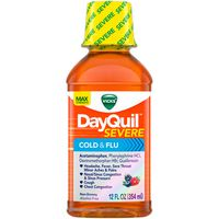 V DayQuil Cough, Cold & Flu Relief Liquid
