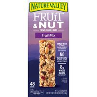 Nature Valley Fruit & Nut Trail Mix Chewy Bars, 48 x 1.2 oz