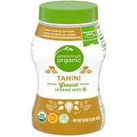 Simple Truth Organic Tahini Pure Ground Sesame Seed