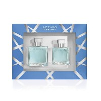 Men's Azzaro Chrome Perfume Gift Set - 2pc
