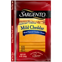 Sargento Deli Style Natural Mild Cheddar Slices 11 ct Cheese, 8 oz