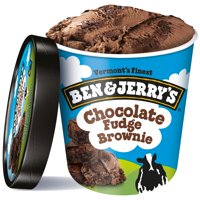 Ben & Jerry's Chocolate Fudge Brownie Ice Cream, 16 oz