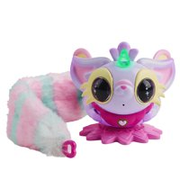 Pixie Belles - Layla (Purple) - Interactive Electronic Pet with Bonus Tail